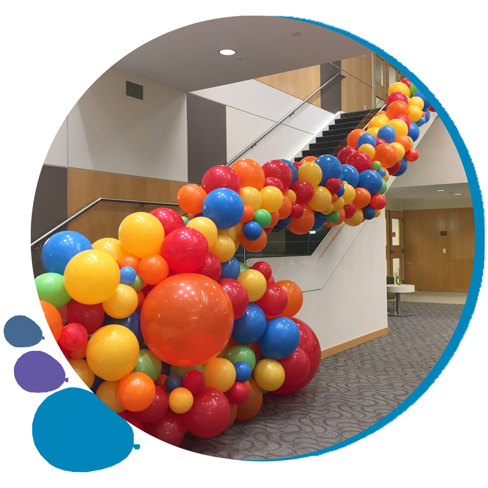 circle balloon border version 3